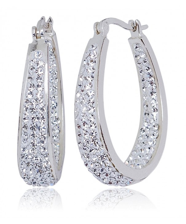 Carly Creations Genuine Crystal Earring