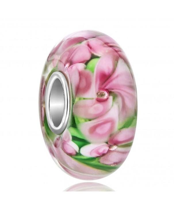 LovelyJewelry Sterling Silver Flower Bracelet