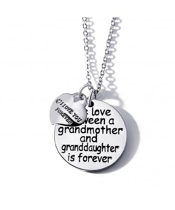 between grandmother granddaughter forever Necklace