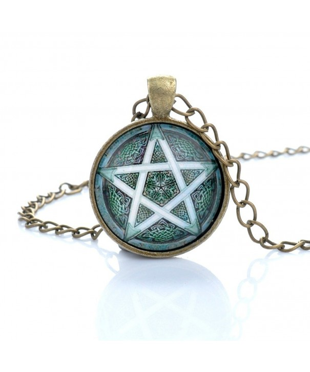 Lureme Antique Necklace 01002598 parent Pentagram