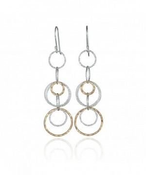 Interlinked Circles Earrings Sterling Earring
