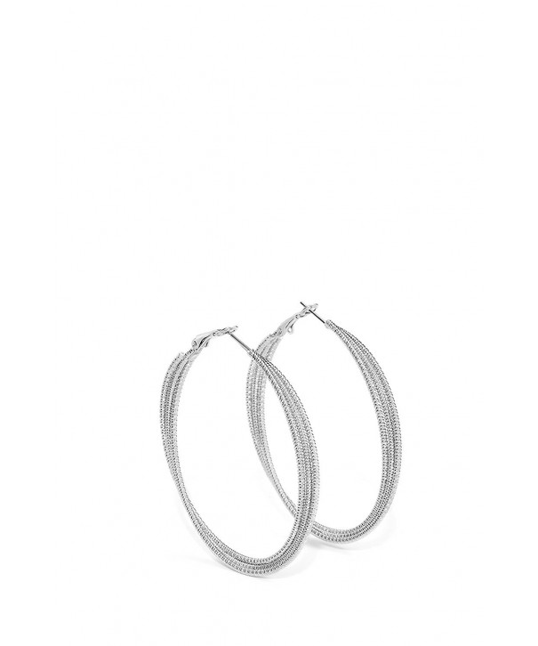 Strand Earrings Circle Earring interlacing