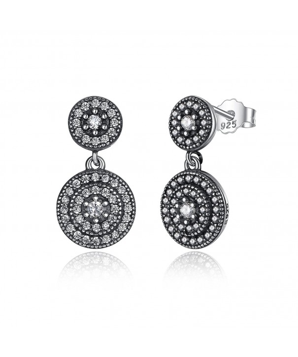 BAMOER Sterling Silver Elegance Earrings