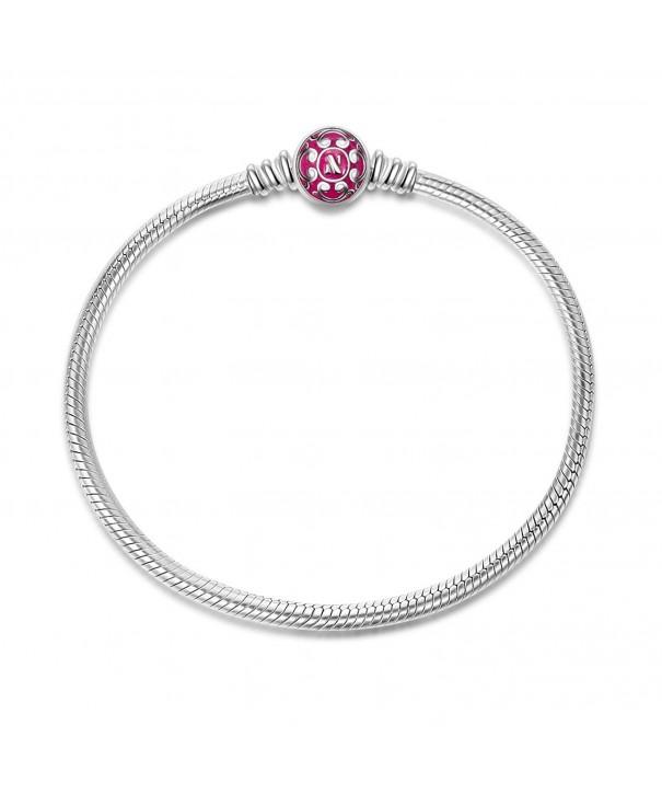 NinaQueen Sterling Anniversary Graduation Bracelets