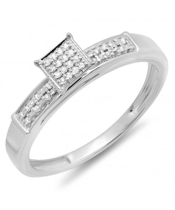 Sterling Silver Diamond Ladies Promise