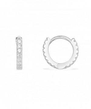 Huggie Earrings Cartilage Sterling Silver