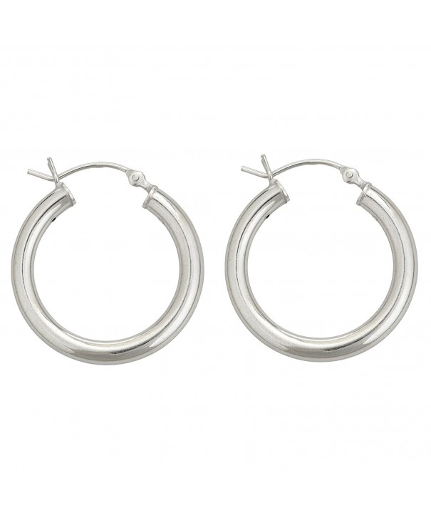 Sterling Silver Polished Earrings sterling silver