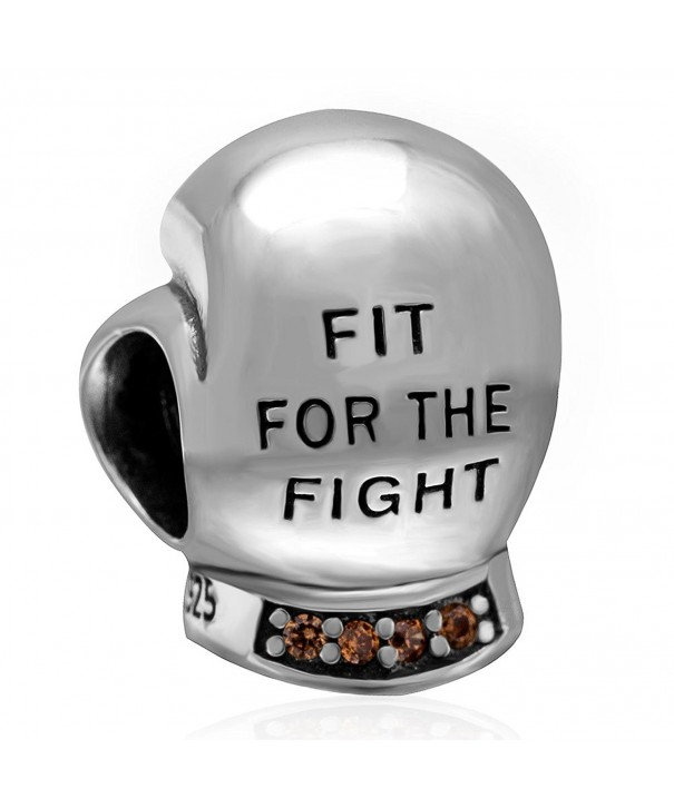 Fighting Boxing Sterling Champagne Bracelets