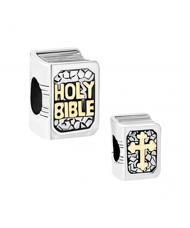 CharmsStory Bible Books Plated Bracelets