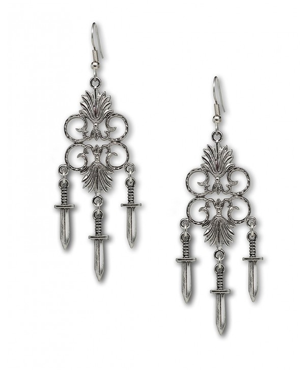 Chandelier Earrings Medieval Renaissance Jewelry