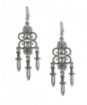 Chandelier Earrings Medieval Renaissance Jewelry