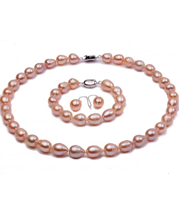 JYX Freshwater Pearl Necklace Bracelet