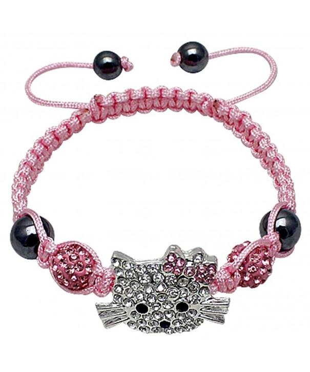 Hellokitty alloy friendship bracelet crystals