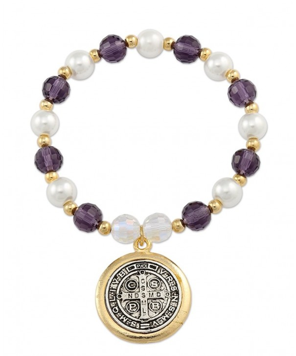 Benito Bracelet Plated Crystals Simulated