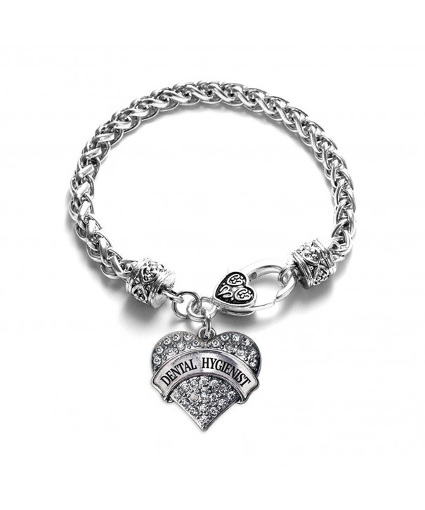 Inspired Silver Dental Hygienist Bracelet