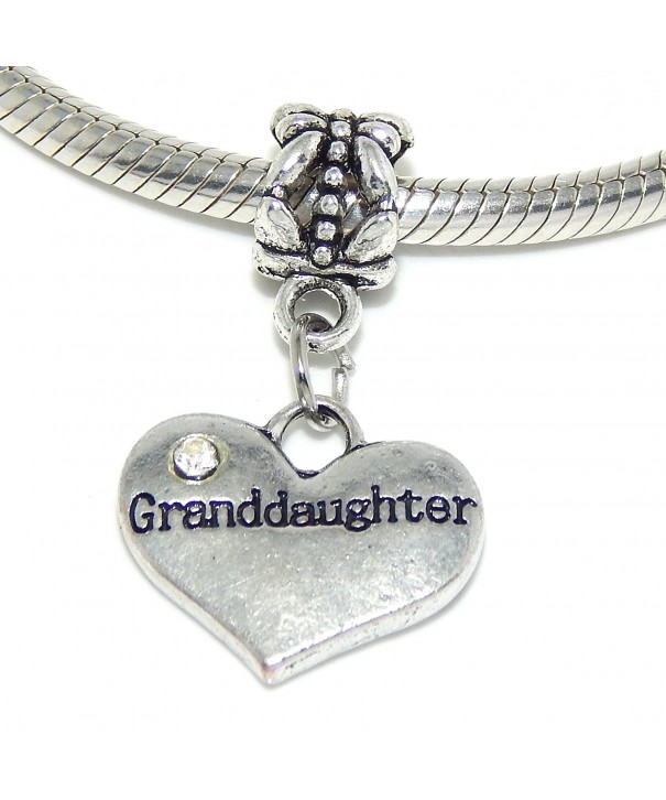 Jewelry Dangling Granddaughter Crystals Bracelet