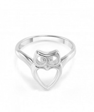 Sterling Silver Heart Shaped Bird
