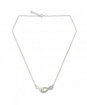 NOVICA Sterling Handmade Necklace Infinity
