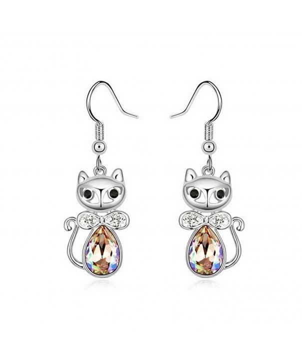 Alvdis Premium Princess Crystal Earrings