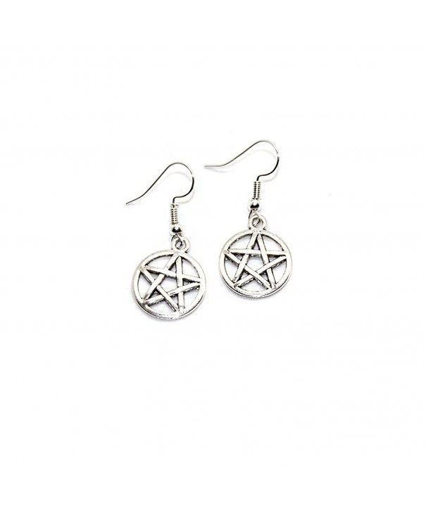 Joji Boutique A P2177 S Pentacle Earrings