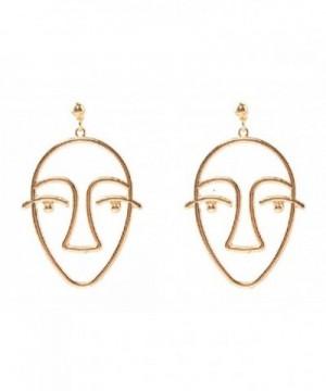SUNSCSC Dangle Earrings Vintage Jewelry