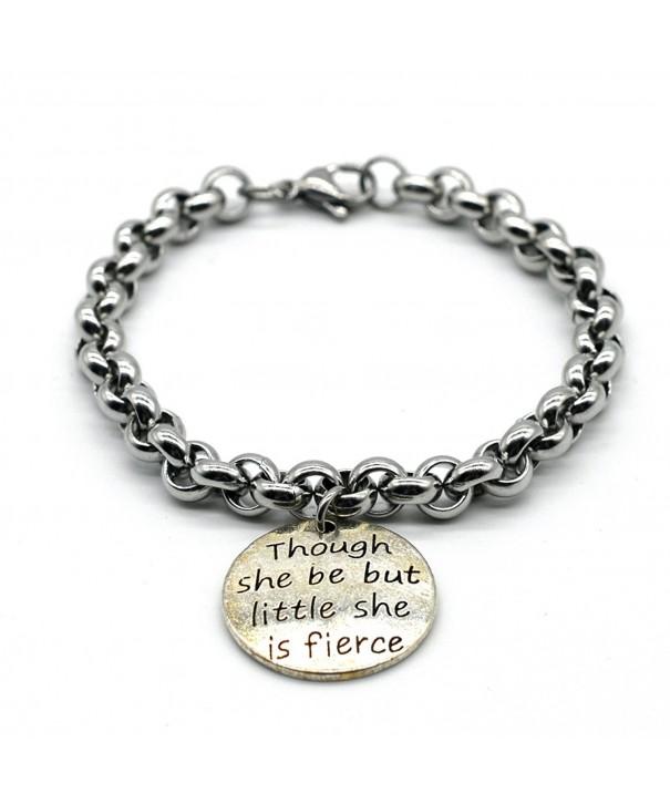 Stainless Bracelet Though Handmade LB01