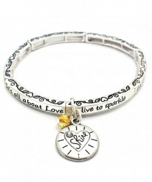 About Love Charm Bracelet Shine