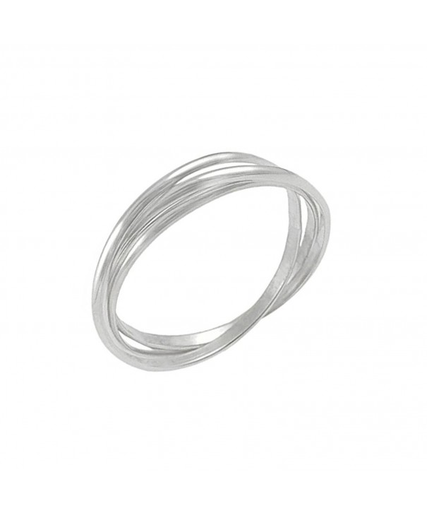 Sterling Silver Russian Wedding Band