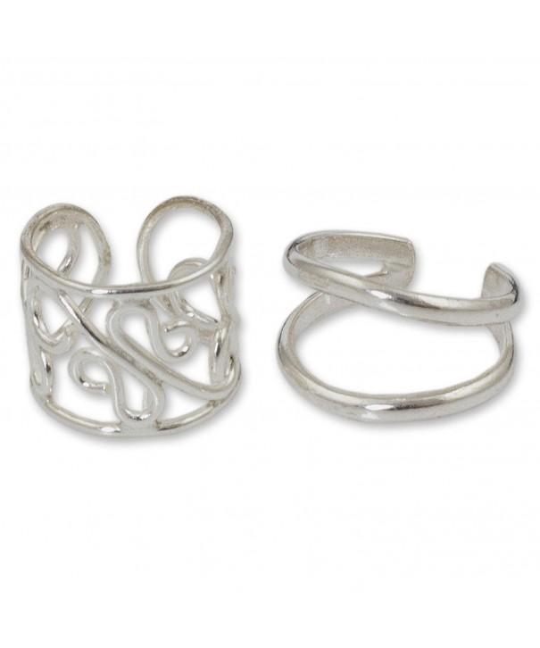 NOVICA Sterling Handmade Earrings Filigree