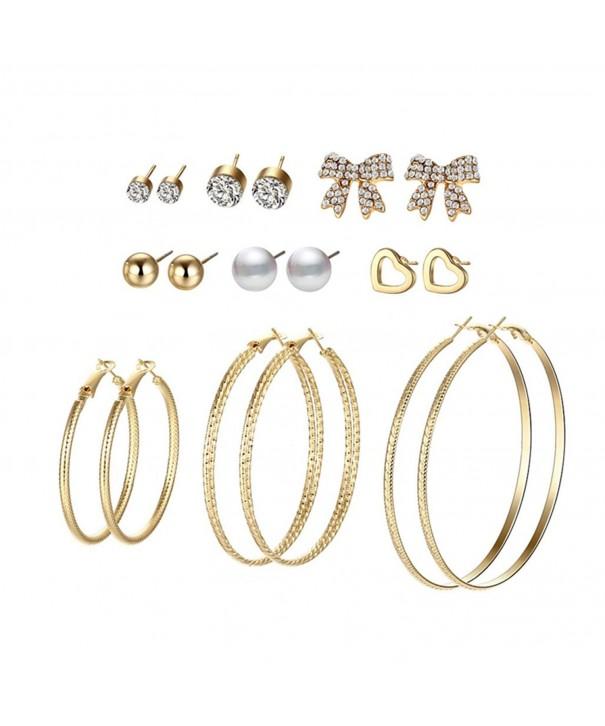 Hanloud Multi Earrings Assorted Crystal