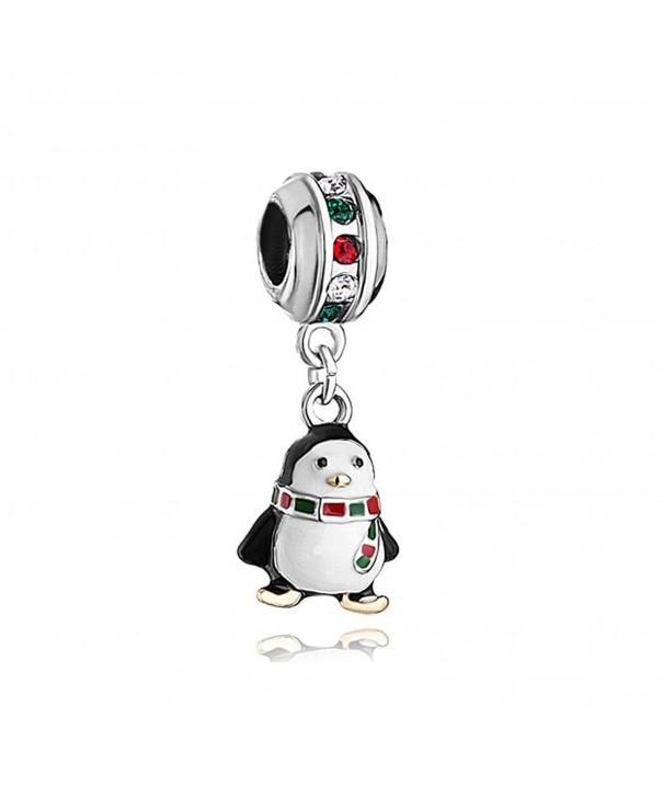 LovelyJewelry Penguin colorful crystal Bracelet
