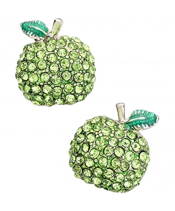 Liavys Apple Fashionable Earrings Sparkling