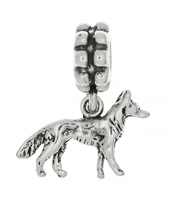 Sterling Silver Oxidized Shepherd European