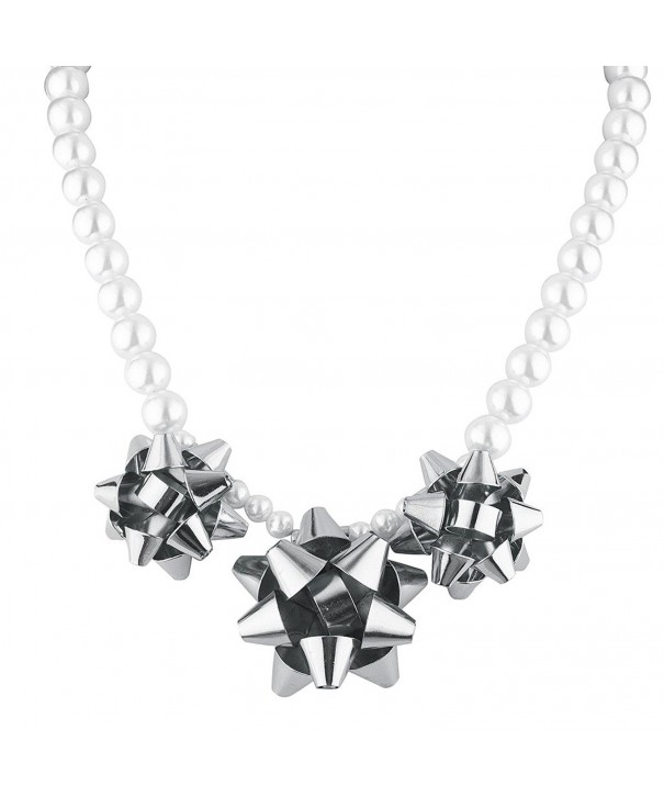Lux Accessories Christmas Statement Necklace