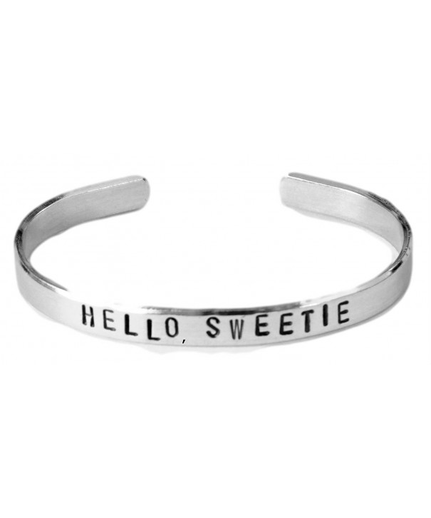 Doctor Who Inspired Bracelet Aluminum