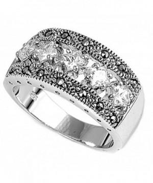 Polished Unique Elegant Sterling Silver