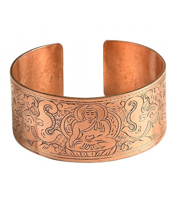 Hammered Bracelet Healing Spiritual Buddhist