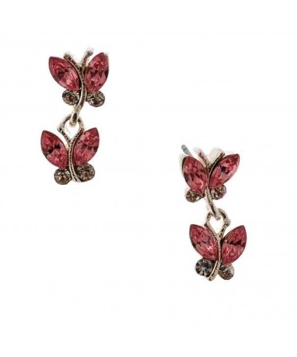 Womens Earring Borealis Butterfly Earrings