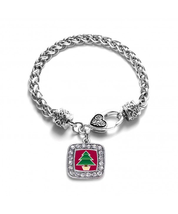 Christmas Holiday Classic Silver Bracelet