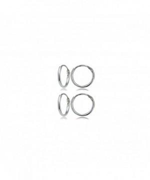 Sterling Silver Endless Lightweight Earrings