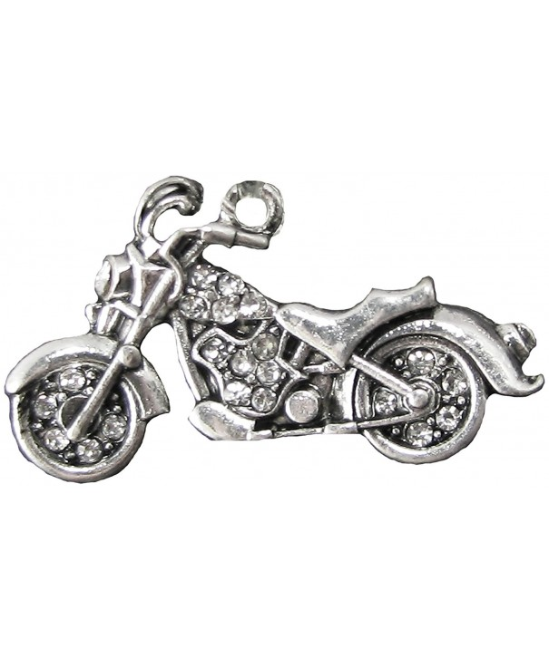 Motorcycle Crystal Jewelry Assembly Supplies