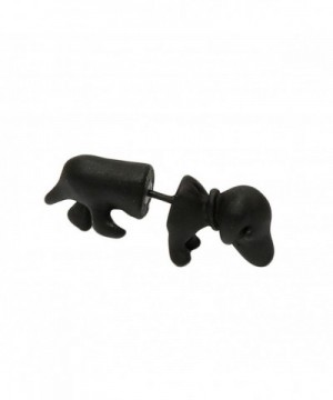 Fashion Womens Dachshund Piercing Earring
