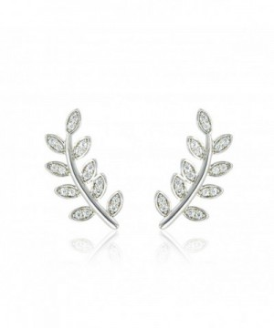 Delicate Climbers Crawlers Earrings Plated