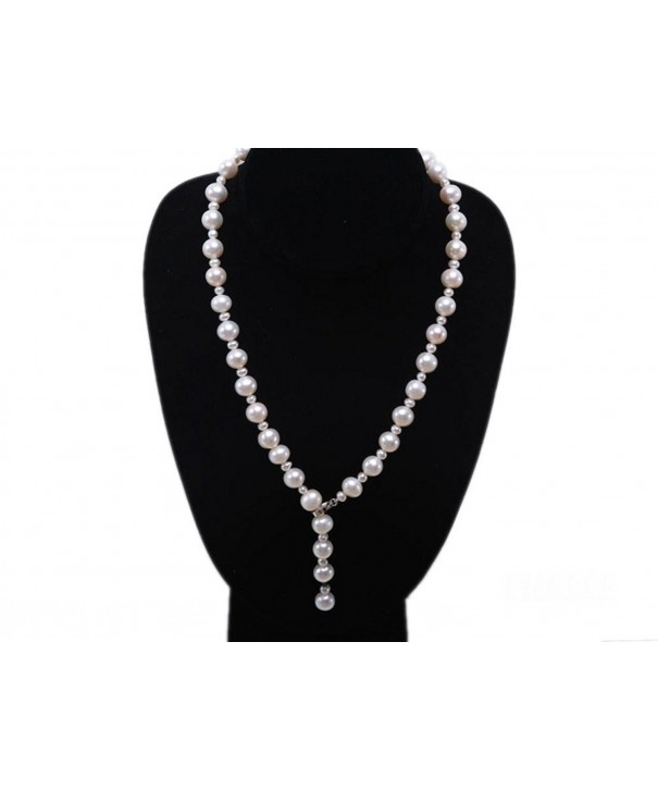 JYX 10 11mm Freshwater Pearl Necklace