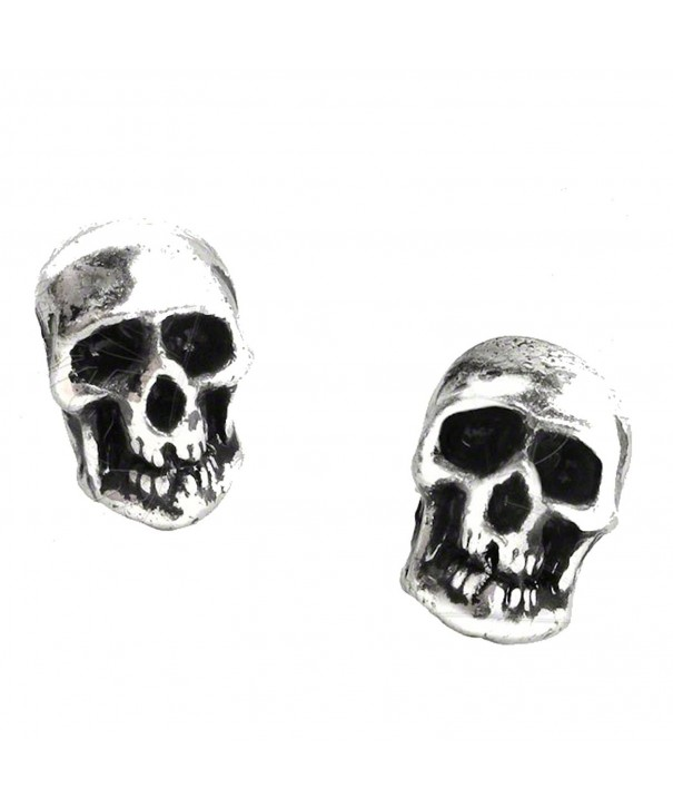 Death Earrings Alchemy Gothic England