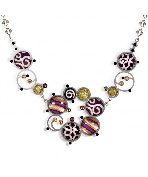 Artazia Purple Necklace Fall Winter Collection