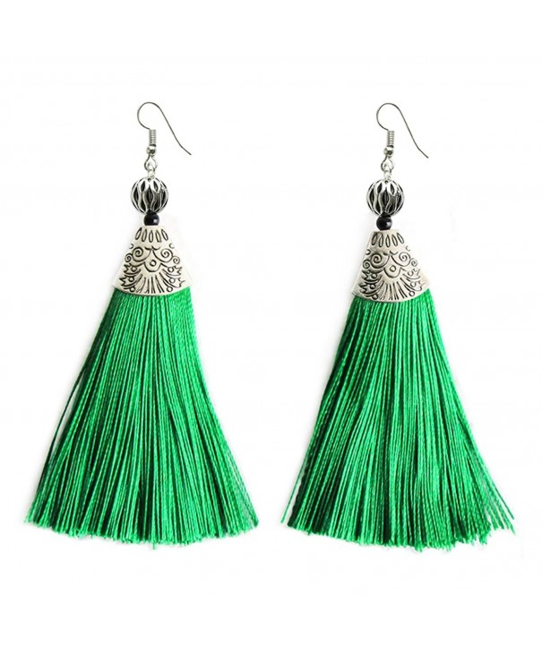 Tassel Handmade Earrings Weeding Jewelry