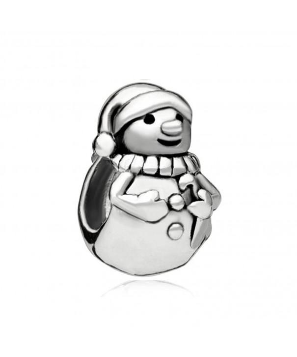 CharmsStory Snowmans Silver Compatible Bracelets