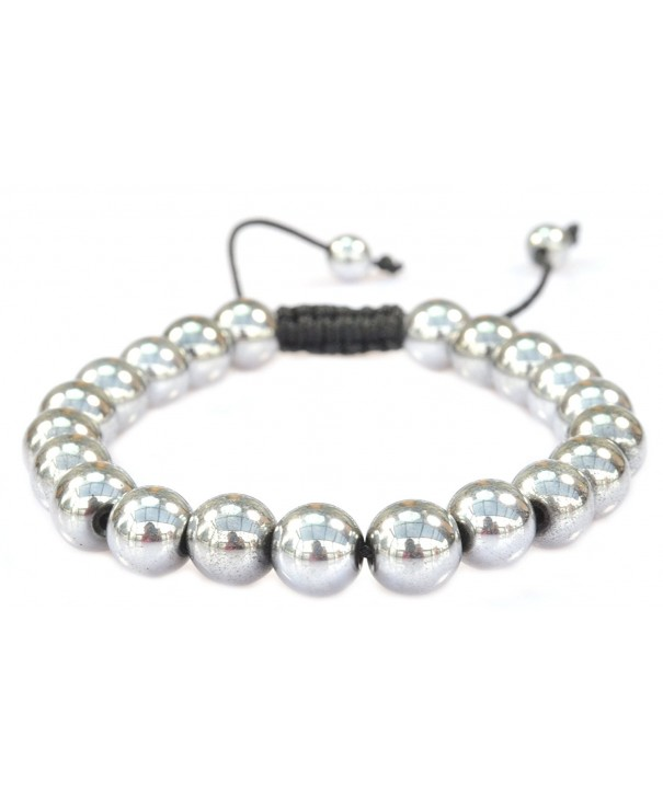 Magnetic Silvertone Hematite Bracelet Arthritis