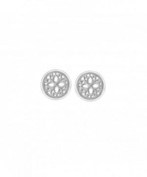 Boma Sterling Silver Flower Earrings